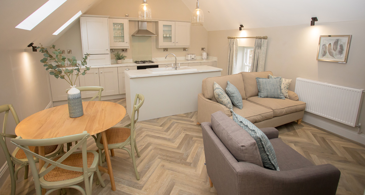 room in Lambsquay House, luxury self catering apartments in the Forest of Dean