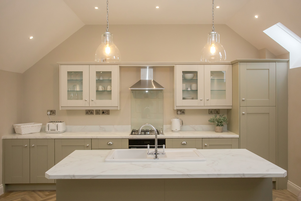 kitchen in Lambsquay House, luxury self catering apartments in the Forest of Dean