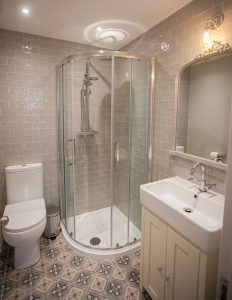 bathroom in Lambsquay House, luxury self catering apartments in the Forest of Dean